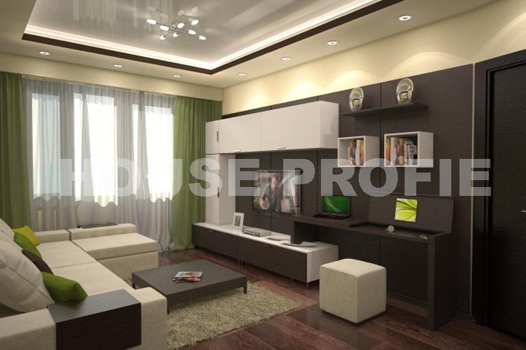 Проекты гостиной фото