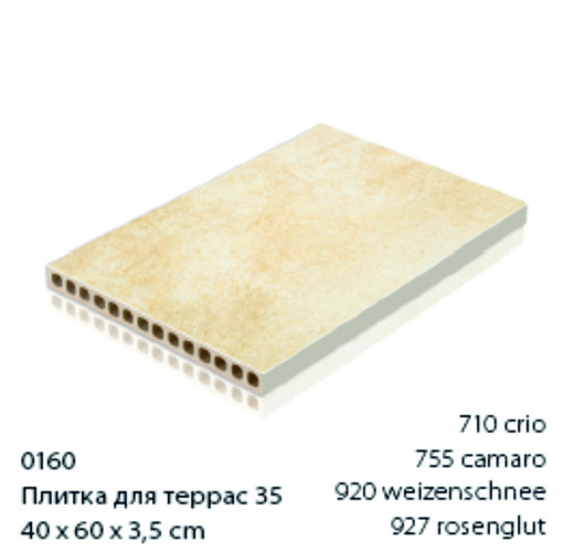 Серия TERIOTEC - Морозостойкий. . Нескользский. . Прост в укладке.