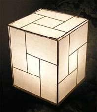 Предметы интерьера в японском стиле - освещение 1