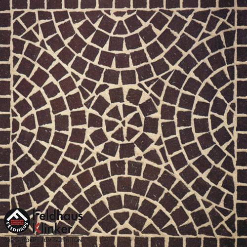 502 брусчатка, мозаика umbra plano