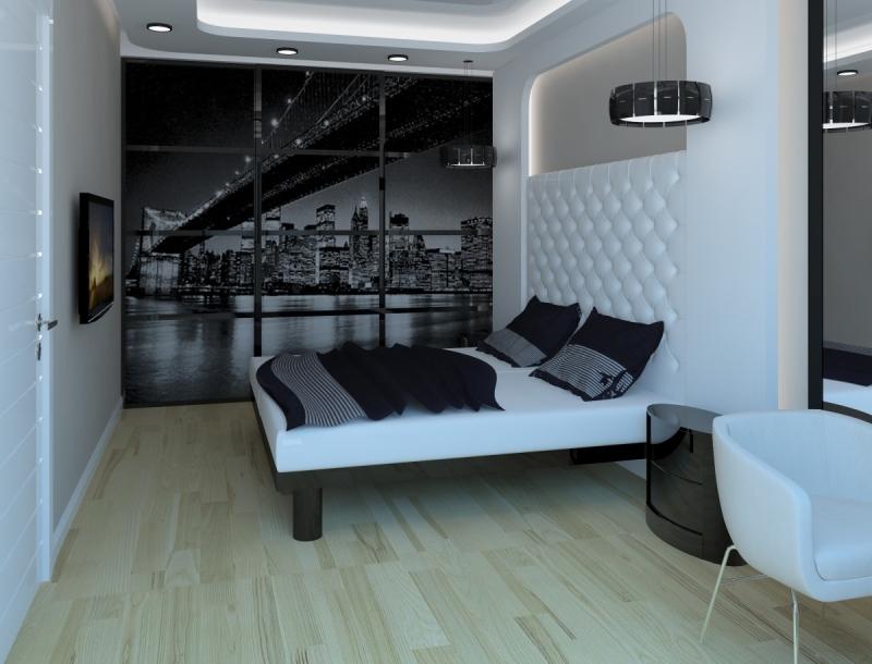 Дизайнерские проекты спальни